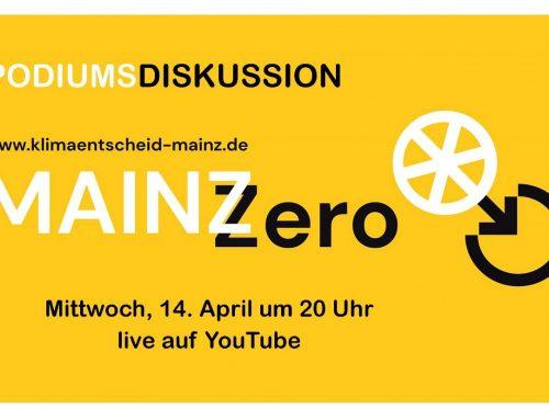 MainzZero lädt zur Podiumsdiskussion