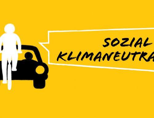 Demonstration für Mobilitätswende und Klimaschutz